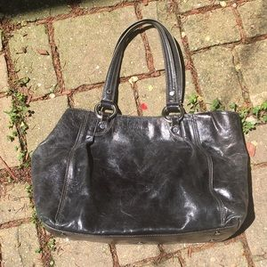Kenneth Cole Leather Tote Bag